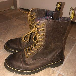 Brown Doc Marten Boots